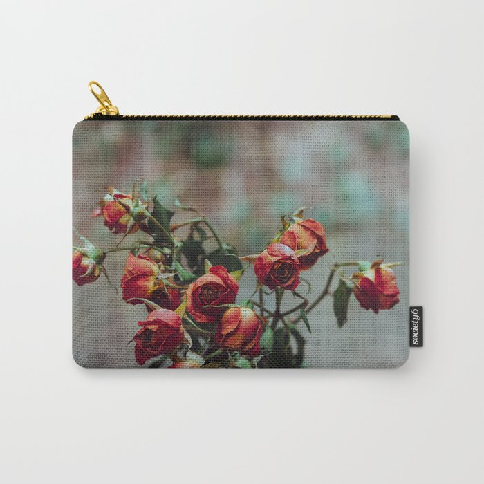 Windowsill Roses no. 1 Carry-All Pouch