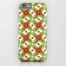 Guild of flowers and leaves! Slim Case iPhone 6s