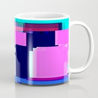 blur Mugs featuring Blur by allan redd