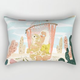 Desert Home Rectangular Pillow