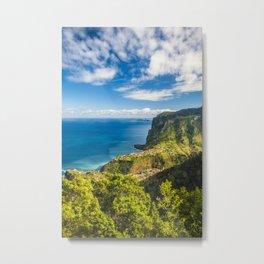 Madeira Metal Print