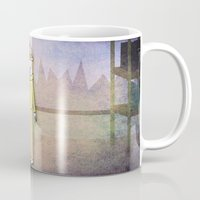 hologram Mugs featuring Rainbow Hologram Unicorn by That's So Unicorny