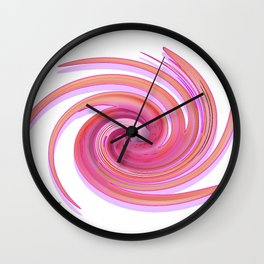 The whirl of life, W1.3A Wall Clock