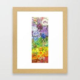 le jardin de la fleur Framed Art Print