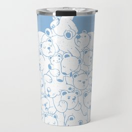 Bear T-Shirt Hibernation Kids Travel Mug