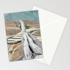 Up in the air Stationery Cards