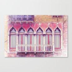 FACADES OF VENICE Canvas Print