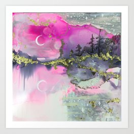 Time for Reflection Art Print