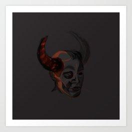 Trueforms #1 - demon!Dean Art Print