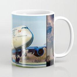 Jumo Jet at Manchester Coffee Mug