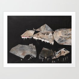 Constellations at the Edge of the World  Art Print