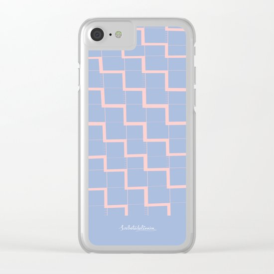 BLUEZIGZAG Clear iPhone Case