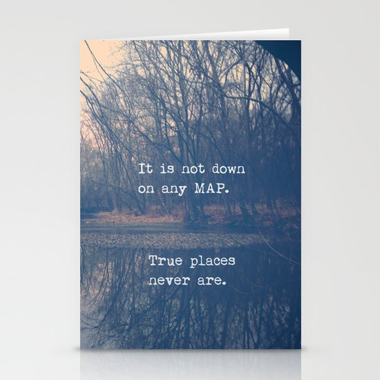 True Places Stationery Cards