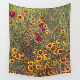 Summer Garden Flower Photography Wall Tapestry
