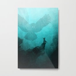 Owl Summoner Metal Print