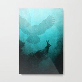 Owl Summoner Metal Print