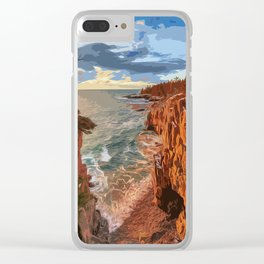 Acadia National Park at Maine Clear iPhone Case