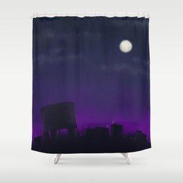 Nightscape Shower Curtain