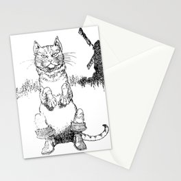 Puss in Boots Stationery Cards