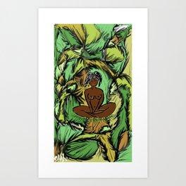 Yaci, Mother of Nature Art Print