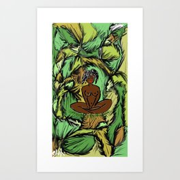 Yaci, Mother of Nature Art Print