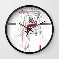 tribal Wall Clocks featuring TRIBAL by ARCHIGRAF