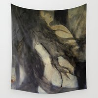 imagerybydianna Wall Tapestries featuring litha; solstice dance by Imagery by dianna