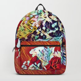 Brighten Your Day Flowers Backpack