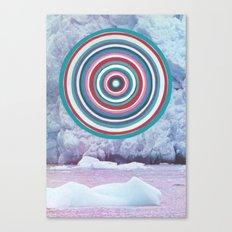 Warm Ice Canvas Print