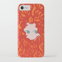 merida iPhone & iPod Cases featuring Merida by Glopesfirestar