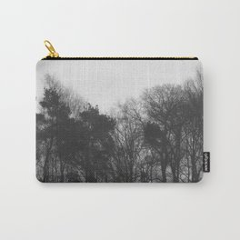 Trees in black and white vintage Carry-All Pouch