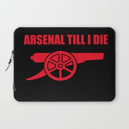 Arsenal Till I Die Laptop Sleeve