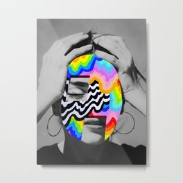 Color Girl Metal Print