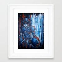hunter x hunter Framed Art Prints featuring Irregular Hunter X-2 by Doom
