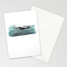 Aqua Dreams Stationery Cards