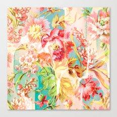 hide and seek floral Canvas Print