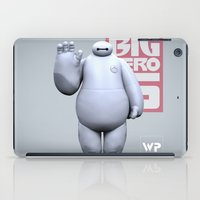 baymax iPad Cases featuring Baymax by Wilbert Pierce
