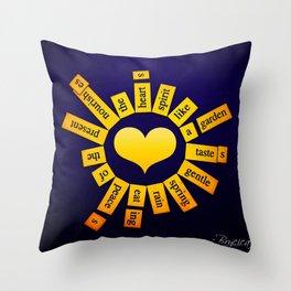 Infinite Garden Throw Pillow