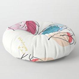 Tropical Moment C Floor Pillow