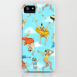 Pool Rats iPhone Case