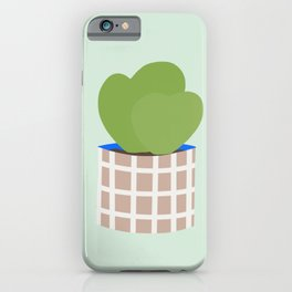 Vase no. 9 with Hoya Heart Succulents iPhone Case