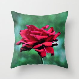 Withered Beauty (ROSE) Throw Pillow
