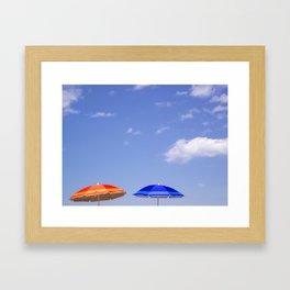 Beach Sky Framed Art Print