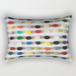 DAMIEN HIRSTED4 Rectangular Pillow