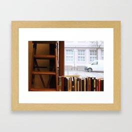 Little Library Framed Art Print