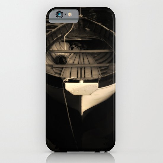 Boat of a Fisherman iPhone & iPod Case