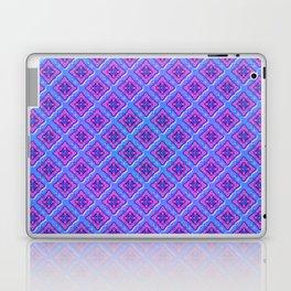 Purple Pillow Puffs Pattern Laptop & iPad Skin