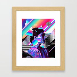 Being Here Framed Art Print