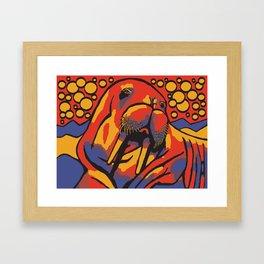 Benny the Walrus Framed Art Print