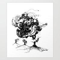Windchime Art Print